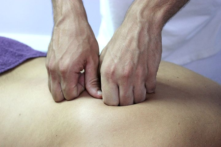 Chiropractor in Castle Hill performing a back treatment